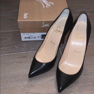 Amazing, black Christian Louboutin heels